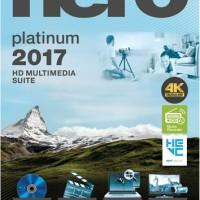 Nero Burning ROM Platinum 2017 Plus Content Pack Software Burning DVD