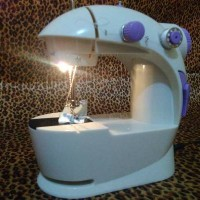 Mesin Jahit Portable Singer Mini Sewing Machine + Accecories Lengkap