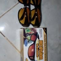 Jual kacamata hd vision sunglass 1 box isi 2 pc kuning semua Murah