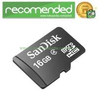 SanDisk microSDHC Memory Cards Class 4 16GB - SDSDQM-016G-BQ35 (BULK P