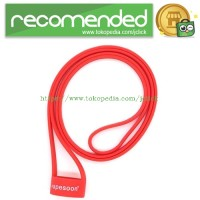 Lanyard Silicone Vape Band Rokok Elektrik Universal - Red