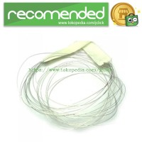 Rebuildable Vaporizer Flat Wire 0.1 x 0.8mm Length 1m - Silver