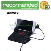 Remax Super Flexible Car Holder with Micro USB & Lightning Charger - B
