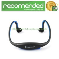 Sports Wireless Bluetooth Headset - BTH-404 - Black/Blue