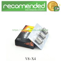 RBA Replacement Heating Coil for TFV8 Tank 3PCS - Silver