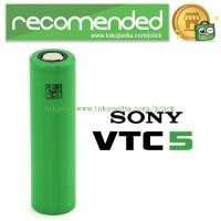 Sony VTC5 18650 Lithium Ion Cylindrical Battery 3.7V 2600mAh - Green