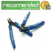 Plato Gunting Kawat Vape Coil Wire Cutter Scissor - Blue