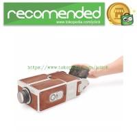 Proyektor Smartphone Portabel Cardboard 2.0 - Brown