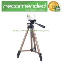 Weifeng Portable Lightweight Tripod Stand 4-Section Aluminium Legs wit