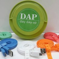 Kabel Data Charger DAP DPM 100cm WARNA (Satuan)