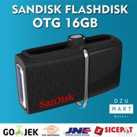 Jual Sandisk Flash disk OTG 16GB Dual Drive 3.0   flashdisk sandisk OTG 16 Murah