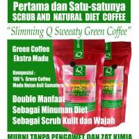 Jual Minuman Diet Pelangsing Kopi Hijau Slimming Q WMP Fat Burner Plus Madu Murah