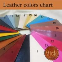 Leather sheet/ kulit sapi lembaran size A4 & A3