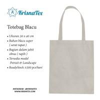 Tas Goodiebag / Totebag Blacu Polos Tebal Craft