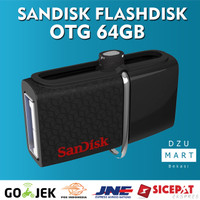 Jual Sandisk Flash disk OTG 64GB Dual Drive 3.0 | flashdisk sandisk OTG 64 Murah