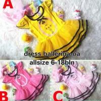 Dress Bayi Branded / Baju Pesta Bayi / Baju Ballerina Bayi