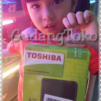 HDD Harddisk External Toshiba Canvio 1TB