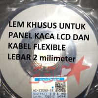 AC-7206U-18 ACF Anisotropic Conduction Film Lem LCD lebar 2 mm