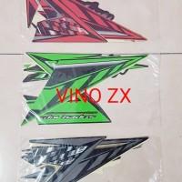 Stiker Striping Stripping Lis Kawasaki Ninja R 2014