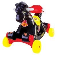 Mobil Dorong Kuda dan Jungkat - Jungkit Untuk si Anak