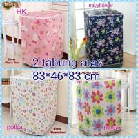 Cover Mesin Cuci 2 TABUNG, Sarung Mesin Cuci, Penutup Laundry