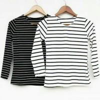 Jual Tshirt stripe tee Murah