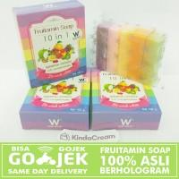 Harga fruitamin soap sabun pemutih badan sabun fruitamin by wink | Hargalu.com
