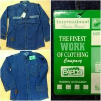 Jual Kemeja Jeans Anak (EAP) Murah
