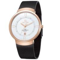 Jual jam tangan perempuan anti air analog original alfa mirage casio alba Murah