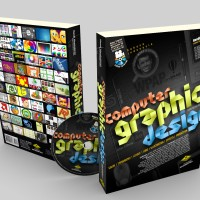 Buku Desain Grafis Komputer WPAP Logo Tipografi Ilustrasi Produksi