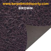 Jual Keset Lantai Mie Bihun Meteran Coklat (Brown) Murah