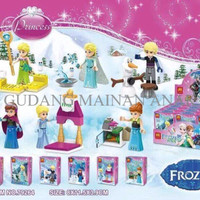 Jual [OPENING PROMO!] Mainan Edukasi Mini Figure Lego Lele Frozen Fever Set Murah