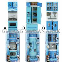 Jual [OPENING PROMO!] Mainan Anak Kitchen Frozen Modern Play Set Mini Blue Murah