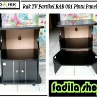 Meja TV Partikel RAR 001 Pintu Panel