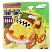 Jual Mainan Edukatif Edukasi Pembelajaran Anak - Puzzle Kayu 4x4 - PK162 Murah