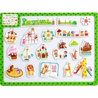 Jual Puzzle Kayu Magnet Mainan Edukatif Edukasi Pembelajaran Anak - PM028 Murah