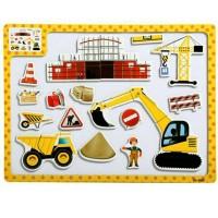 Jual Puzzle Kayu Magnet Mainan Edukatif Edukasi Pembelajaran Anak - PM025 Murah