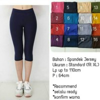 Celana Legging Pendek Bahan Jersey