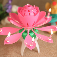 Lilin Ajaib lagu Lotus/Rose Musical candle birthday event celebration
