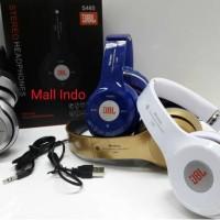 Jual Headphone Wireless Headseat Bluetooth Stereo JBL S460 support Micro sd Murah