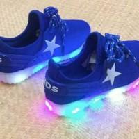 Jual sepatu LED sisa 1 pcs size 35 Murah