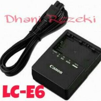 Charger LC-E6 FOR KAMERA DSLR CANON 5D MARK II/MARK III/6D/7D/60D/70D