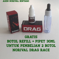 NORIVAL DRAG RACE - penghemat & optimalkan BBM Bensin (Oktan Booster)