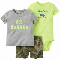 Harga setelan baju jumper kaos bayi anak merk carter | antitipu.com