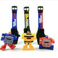 jam tangan mainan anak multifungsi robot transformer mobil murah
