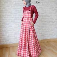 Setelan Baju Overall  Muslimah-SBOM
