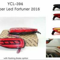 Bumper Led Fortuner 2016