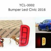 Bumper Led Civic 2016