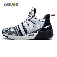 ONEMIX New Men Running Shoes Breathable Boy Sport Sneakers 2017 Unisex