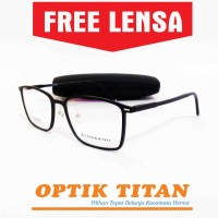 Jual Frame Kacamata Minus Lentur Branded Giordano 6283 Hitam Murah  Murah